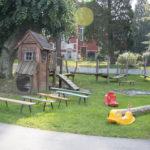 Spielmöglichkeiten im Garten
